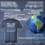 Where is the #mshirt giving thanks?